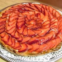Tarte aux fraises 1