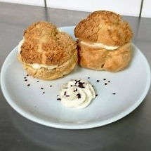 Craquelin crème vanillée